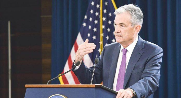 J. Powell (Fed) svojimi komentarmi nakopol americky akciovy trh. USD po jeho slovach oslabil.