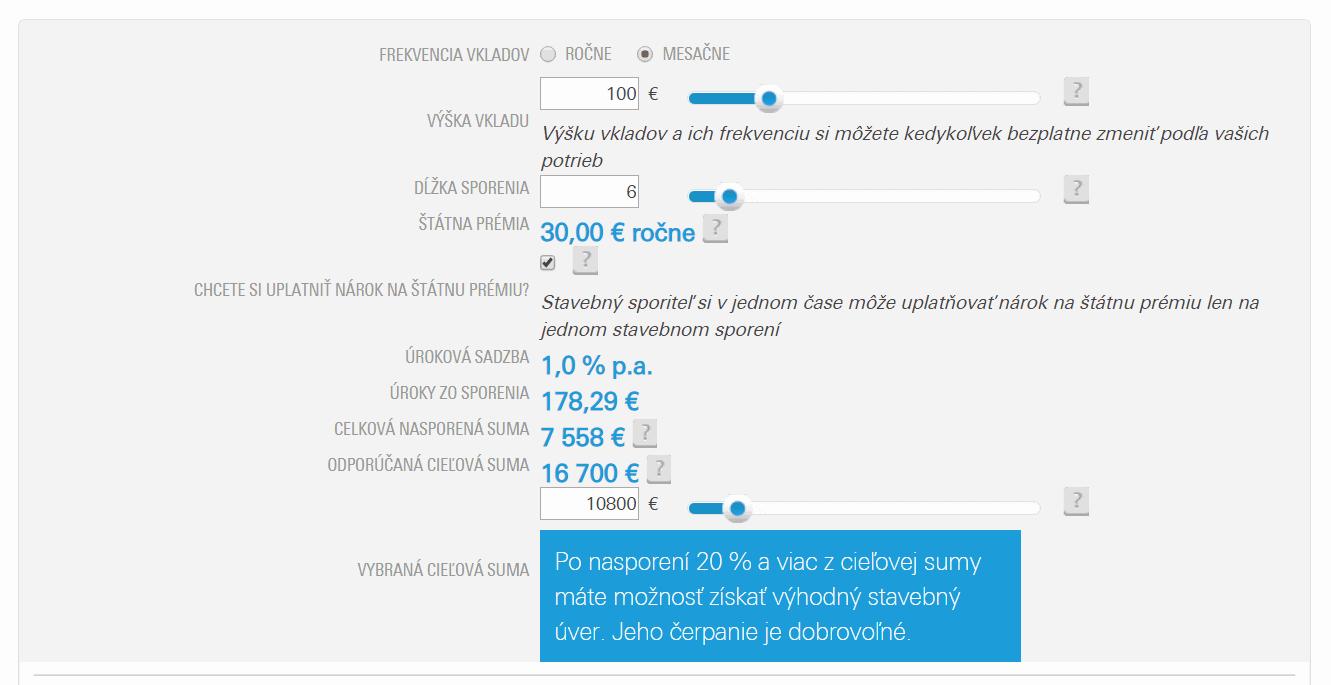 csob 100 eur Dá sa veriť online kalkulačkám stavebného sporenia?