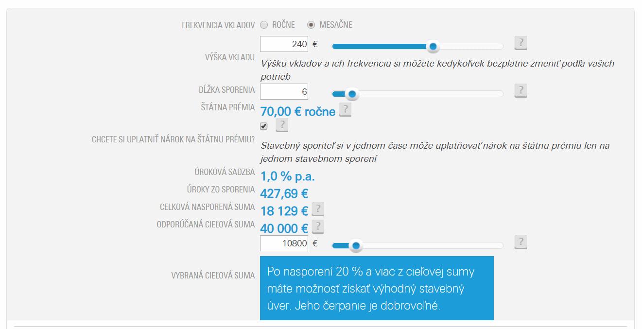 csob 240 eur Dá sa veriť online kalkulačkám stavebného sporenia?