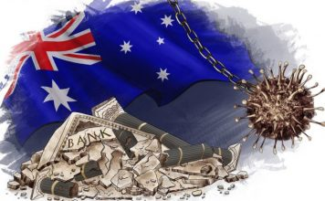 Australia prvykrat od r. 1991 v recesii. Nezamestnanost v USA prudko klesla na 84 Domov